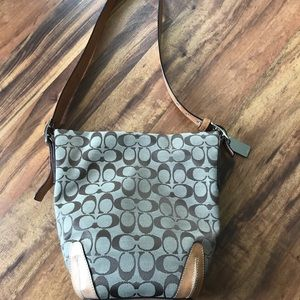 Authentic coach bucket purse